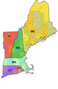 Where Is New England On The Map by Dr B Culp October 2011