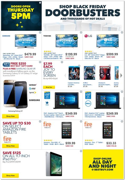 best black friday deals bestbuy black friday 2017 ads deals and sales