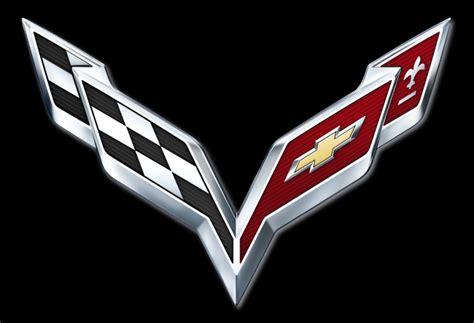 chevrolet car logo 2014 chevrolet corvette c7 logo revealed debut set for