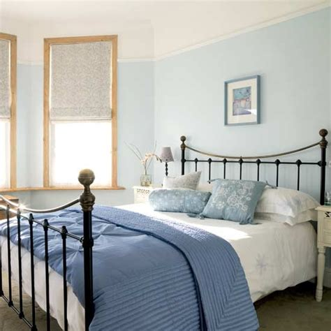 Blue Bedrooms Decorating Ideas calming blue bedroom bedroom furniture decorating