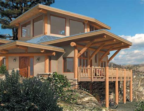 modern log home plans log home interior design modern log home design