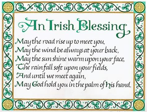 st patricks day reflection an irish blessing pictures photos and images for