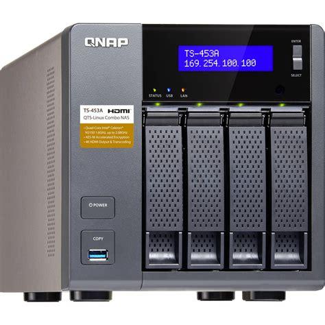 Home Storage Solutions by Qnap Ts 453a Four Bay Nas Enclosure Ts 453a 4g Us B Amp H Photo