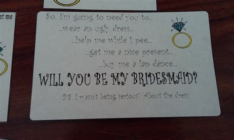 how to ask to be my bridesmaid message in a bottle how i asked am