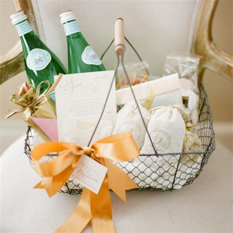 bedroom designs small spare ideas wedding welcome gift 5 steps for assembling welcome bags that wow for wedding 713 | wedding welcome basket bow 0715 sq