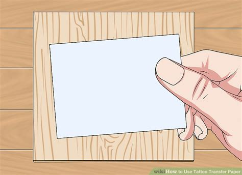 how to use transfer paper for tattoos how to use transfer paper with pictures wikihow