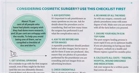 7 Interesting Facts About Cosmetic Surgery by Quot Health Quot Magazine Article With Kate Moreland