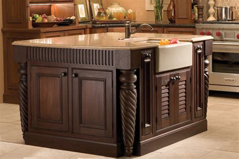 kitchen island with posts kitchen islands and tables kitchen design dura supreme