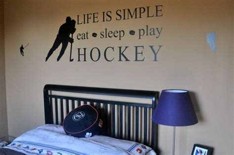 Hockey Themed Bedroom Reece Room Ideas Reeces Room Ideas