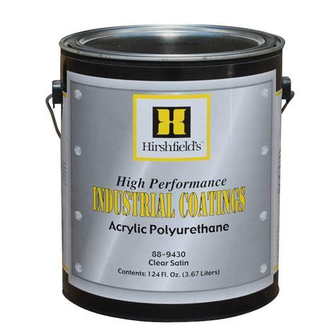 acrylic paint polyurethane acrylic polyurethane hirshfield s