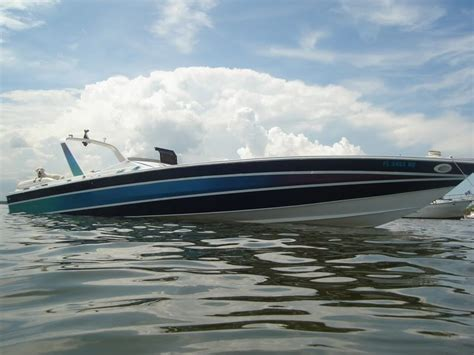 miami vice boat engines scarab 38kv miami vice edition boating pinterest