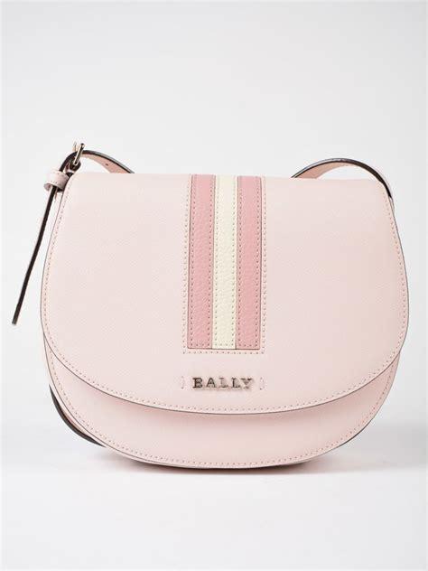 Bally Pocket Stripe Crossbody Bag Ori bally striped detail shoulder bag in pink purple modesens