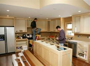home redesign installing a kitchen island kitchen remodeling