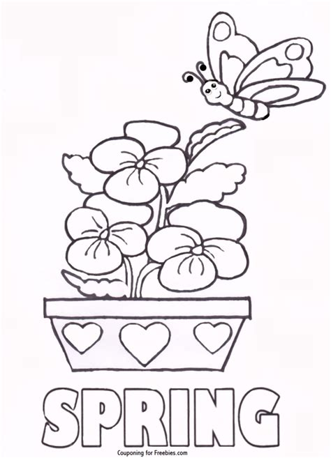 coloring pages spring pdf coloring pages spring coloring pages free printables