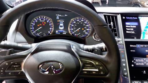 infiniti interior 2017 2017 infiniti q60 limited interior walkaround 2016