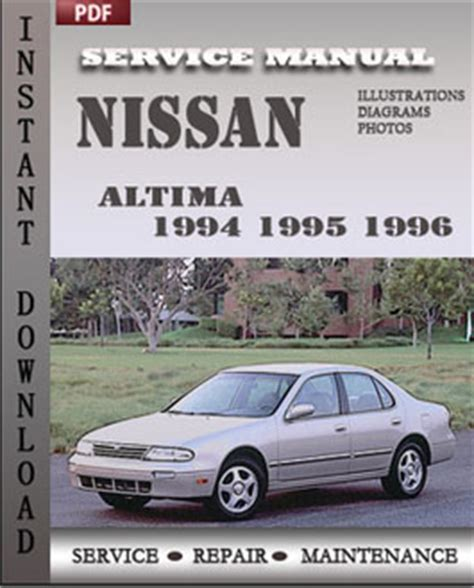 download car manuals pdf free 1995 nissan altima lane departure warning nissan altima 1994 1995 1996 workshop factory service repair shop manual pdf download online
