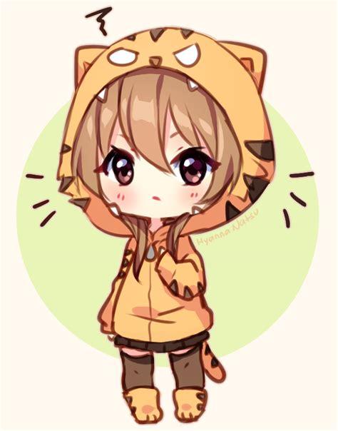 imagenes anime chibi fanart angry tiger by hyanna natsu on deviantart
