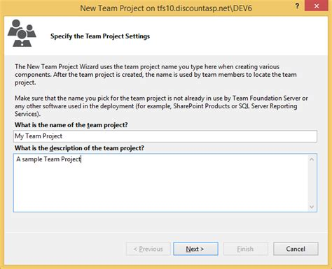 team foundation server process templates getting started with team foundation server 2013 tfs