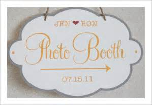 Photo Booth Sign Template Free 6 Best Images Of Sign Printable Wedding Templates Free