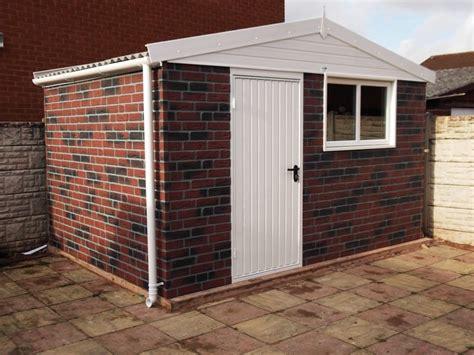 brick shed design uk