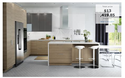 home kitchen design price how much will an ikea kitchen cost