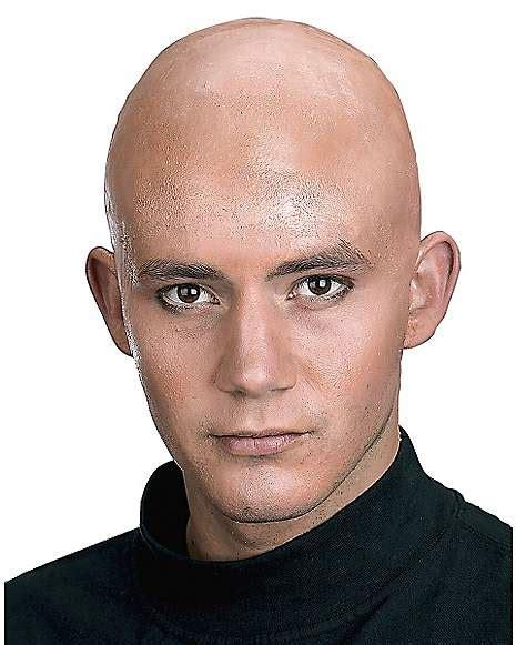 Pop Nosh Bald Dons A Wig by Bald Cap Spirithalloween