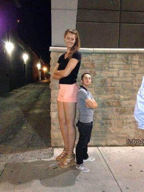 old tall women tall girl short boy by lowerrider deviantart com on