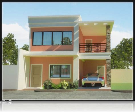 philippine 2 storey house designs 30 beautiful 2 storey house photos bahay ofw