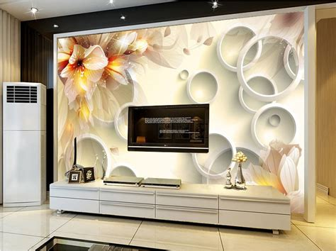 design background tv custom design wallpaper bedroom chinese style 3d large
