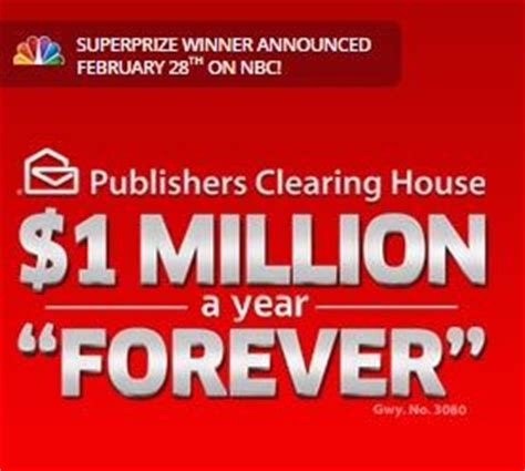 Publishers Clearing House Magazines Subscription Canada - pch 1 million a year for life 2014 autos post