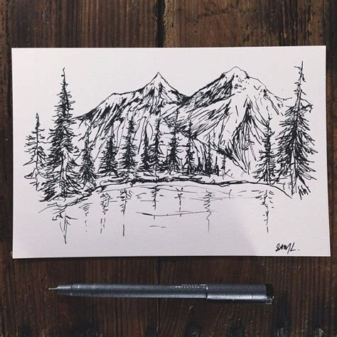 25 best ideas about mountain mountain range drawing www imgkid the image kid