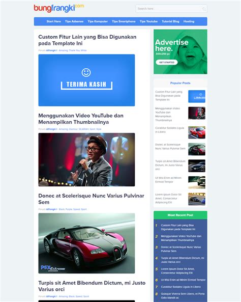 mobile friendly templates for blogger noname premium mobile friendly responsive and seo