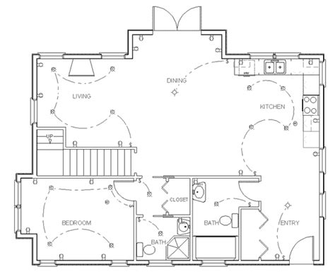 how to draw a house floor plan electrical floor plan the it guys