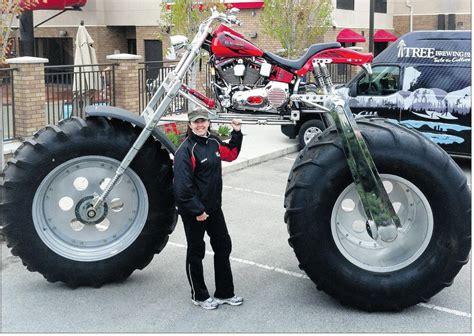 big biker motorcycle a big hit at charity fundraising events