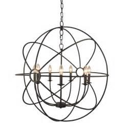 home depot rustic lighting y decor infinity 7 light rustic bronze mini chandelier