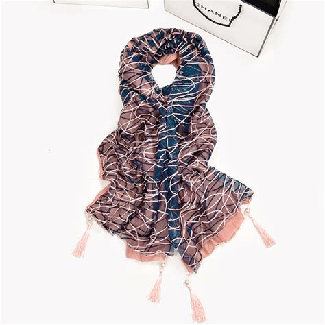 lace fabric scarf wholesale china scarf