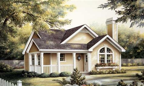 one story cottage house plans one story house with picket