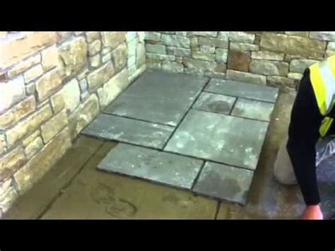 lay paving stone youtube