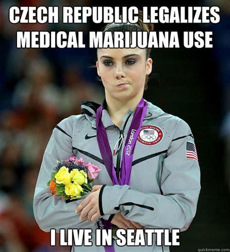 Mckayla Meme - czech republic legalizes medical marijuana use i live in