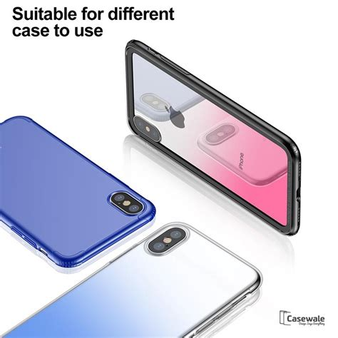 Tempered Glass 0 3mm Oppo F3 Plus iphone x 9h gradient back tempered glass casewale
