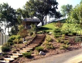 Gardening On A Hill Large Hillside Garden