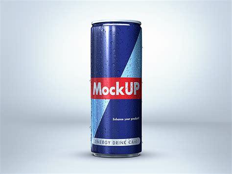 energy drink up energy drink can mockup by piotr szmiłyk dribbble