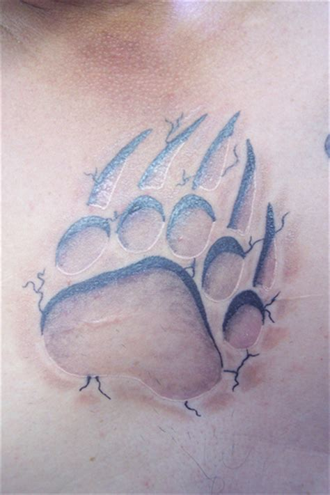 tattoo pictures bear paws bear paw claw tattoo flickr photo sharing
