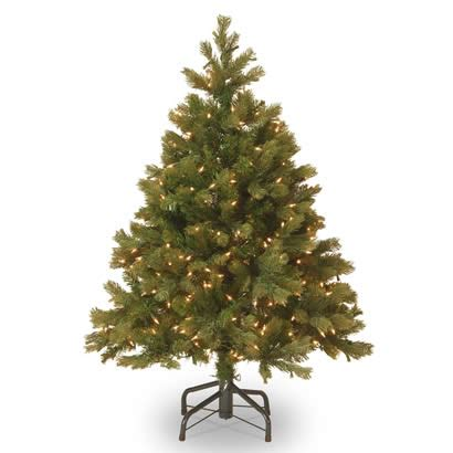 4 ft feel real bayberry spruce christmas tree w 350
