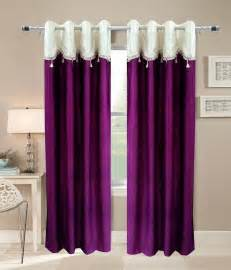 Home Interior Online Shopping by Homefab India Designer Wine Curtain Solid Buy Homefab