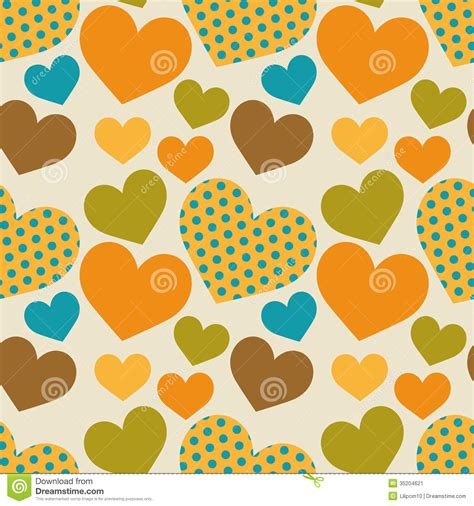 z pattern website seamless retro pattern with hearts stock vector image