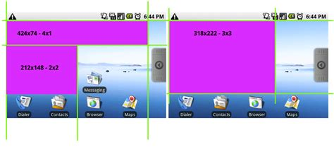 grid layout libgdx widget andrologiciels