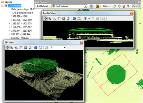 lidar tutorial arcgis 10 an overview of displaying las datasets in arcgis help