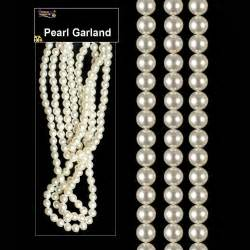 christmas tree room decoration white pearl bead