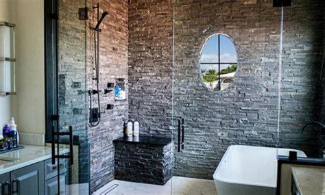 gorgeous stone shower designs